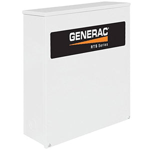 - Generac RTS Automatic Generator Transfer Switch - 200 Amp, 120/208 Volts, 3 Phase, Type N, Model# RTS-N-200G3