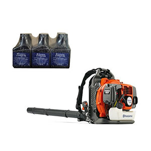 Husqvarna 150BT Blower + 6 Pack of Oil