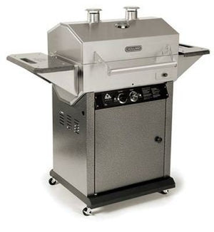 Holland Grill Apex Liquid Propane Grill Cart Stainless Steel