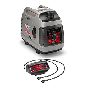 Briggs & Stratton PowerSmart Portable 2200W Inverter Generator with Parallel Cable Connector