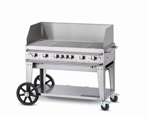 "48"" Single Inlet Rental Grill with Wing Guard - Propane"