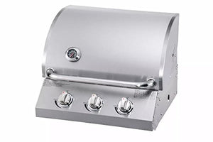 Chaleur GAS GRILL STAINLESS STEELL 3-BURNER