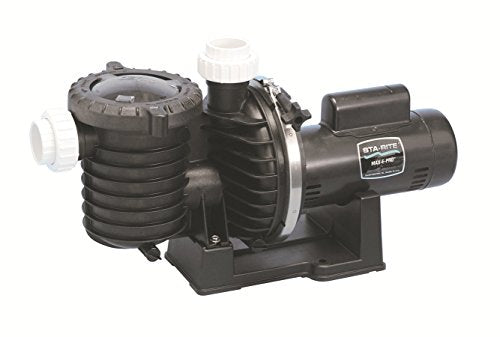 Pentair Sta-Rite P6RAA6G-208L Max-E-Pro Energy Efficient Up Rated Pool and Spa Pump, 2-1/2 HP