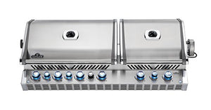 Napoleon Grills BIPRO825RSBINSS-1 Prestige PRO Built In 825 9 Burner Natural Gas Grill, Stainless Steel