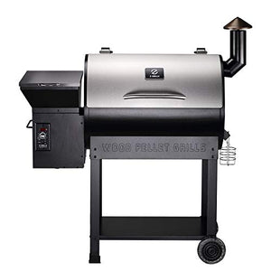 Z Grills Wood Pellet BBQ Grill and Smoker with Digital Temperature Controls