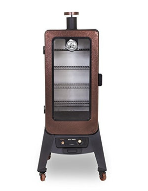 Pit Boss Grills PBV3P1 3-Series Vertical Wood Pellet Smoker Digital Rear Hopper