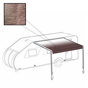 ALEKO RVAW15X8BRN23 Retractable RV/Patio Awning 15 x 8 Feet Brown