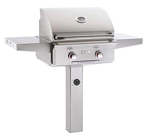 AOG American Outdoor Grill 24NGT-00SP T-Series 24 inch Natural Gas Grill On in-Ground Post
