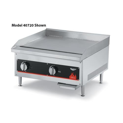 "Vollrath (40839) 48"" Gas Flat Top Griddle - Cayenne Series"