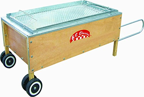 Roasting Box. Galvanized steel lined. Roast pigs up to 100 pounds