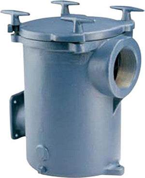 Pentair Pool Products PKG98 D-Series 8 In.Cast Iron Hair And Lint Strainers Trap Assembly
