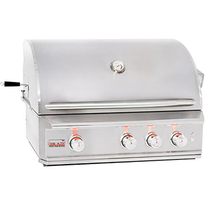 "34"" Professional Grill with 3 Burners Fuel Type: Propane"