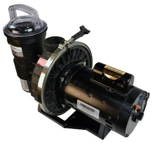 Pentair CFII-NI-3/4A Challenger Standard Efficiency Single Speed Up Rated High Flow In Ground Pool Pump - 3/4 HP