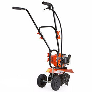"Eight24hours 1.75hp Lawn Garden Gas Cultivator Yard Tiller 10"" 43cc 2 stroke Soil Aerator"
