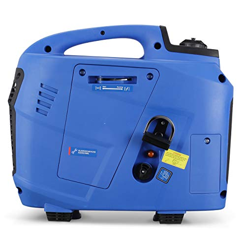 ARKSEN 2800-Watt Gasoline Powered Portable Quiet Inverter Generator LCD EPA CARB Compliant Camping Tailgating