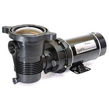 Pentair 347989 OptiFlo Horizontal Discharge Aboveground Pool Pump with Cord and Twist Lock Plug, 1-1/2 HP
