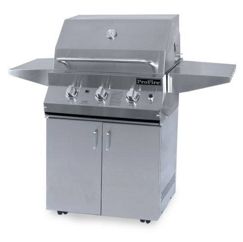 "LX Series PFLX26SSCB Stainless Steel Cart 26"" LP Grills, CART ONLY"