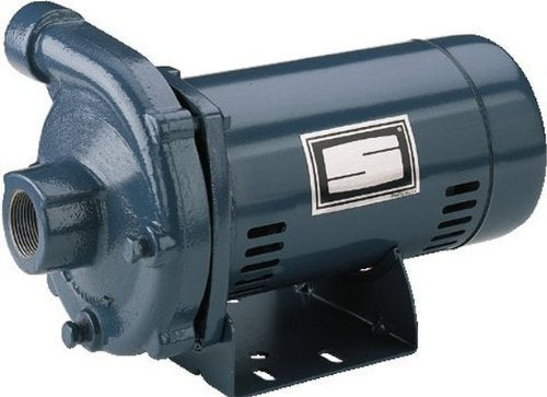 Pentair Sta-Rite JBHG3-52S 3-Phase Cast Iron Centrifugal Pump and Motor Assembly, 2 HP