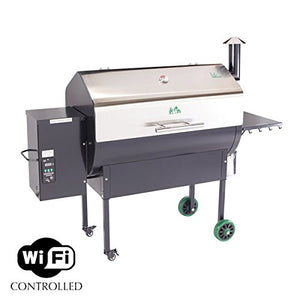 Green Mountain Grill Jim Bowie Wi-Fi Pellet Grill with Stainless Steel Lid (JBWFSS)