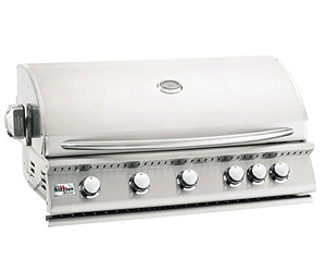 Summerset Sizzler 40-inch 5-burner Built-in Natural Gas Grill With Rear Infrared Burner - Siz40-ng