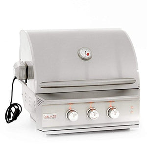 Blaze 27-inch Professional 2-Burner Grill with Rear Infrared Burner (BLZ-2PRO-LP), Built-In, Propane Gas