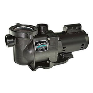 NEW Pentair PHK2RA6F-103L Sta-Rite Supermax 1.5 HP Swimming Pool 115-230V Pump