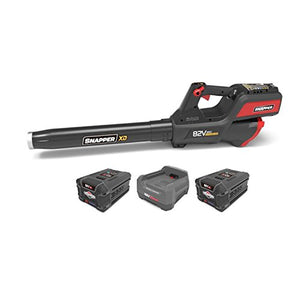 Snapper XD 82V Leaf Blower w/ 2 Ah Lithium Ion Batteries (Pair) & Charger