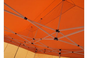 10'x20' Pop up Canopy Wedding Party Tent Instant EZ UP Canopy Burnt Orange - F Model Commercial Grade Frame By DELTA