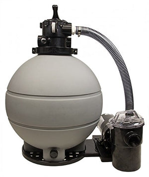 "Rx Clear 22"" Patriot Sand Filter System For Above Ground Swimming Pools 