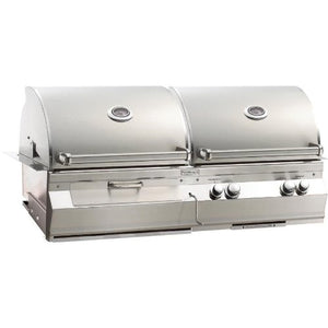 Fire Magic Aurora A830i Natural Gas And Charcoal Combo Built-in Grill
