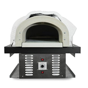 Chicago Brick Oven Natural Gas Hybrid Residential Outdoor Pizza Oven, CBO-750-HYB DIY Kit