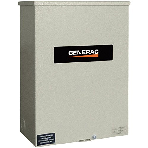 - Generac RTS Automatic Generator Transfer Switch - 400 Amps, 277/480 Volts, 3-Phase, Model# RTSN400K3