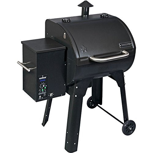 Camp Chef PG24XT Smoke Pro Pellet Grill and Smoker BBQ with Digital Controls and Stainless Temp Probe, Black