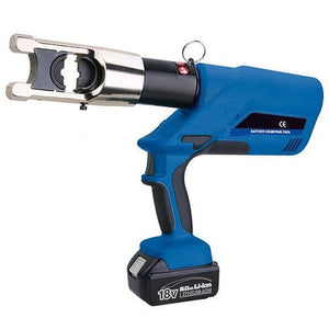 Gowe Battery Powered Crimping Tool 16,25,35,50,70,95,120,150,185,240,300,400mm2 Electric Crimping Plier