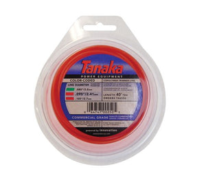 Tanaka 746556 Color-Coded 095-Inch-by-40-Foot Round String Trimmer Line