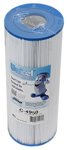 6) New Unicel C4950 Pool/Spa Filters Replace Jacuzzi Cartridge C-4950 50 sq. ft