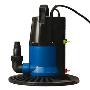 Blue Wave Dredger 1250 GPH In Ground Winter Cover Pump w/Base - Auto On/Off