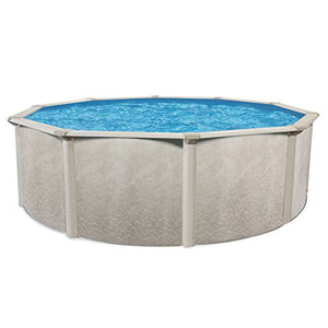 "Outdoor Water Above Ground Swimming Pool Heavy Duty Round Steel Frame 15' x 52"" Patio Pools Summer Fun - Skroutz"