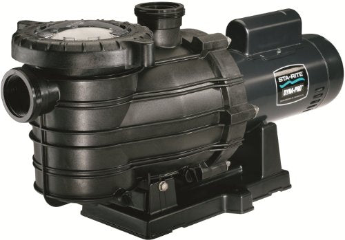 Pentair Sta-Rite MPE6F-207L Dyna-Pro Energy Efficient Single Speed Full Rated Self-Priming Pool and Spa Pump with Easy Off Lid, 1-1/2 HP, 230-Volt
