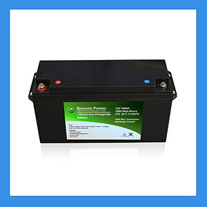 Bioenno Power 12V, 150Ah LFP Battery (ABS, BLF-12150TS)