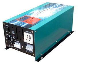 20000W peak 5000W LF Pure Sine Wave Power Inverter DC 24V to AC 110V, with 80A BC / UPS / LCD display
