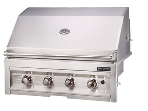 SUNSTONE SUN4B-NG 4-Burner 34-Inch Natural Gas Grill