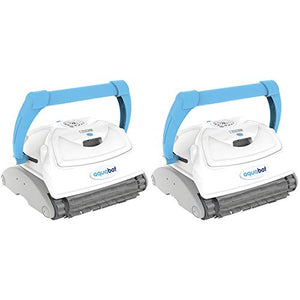 Aquabot Breeze IQ Wall Climbing Automatic Robotic Brush Pool Cleaner (2 Pack)