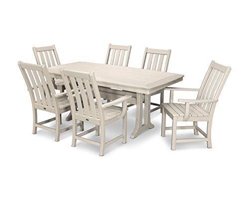 POLYWOOD Vineyard 7-Piece Dining Set (Sand)