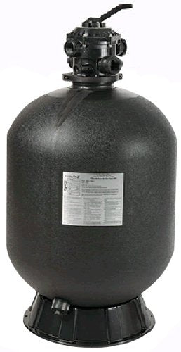 Pentair Sta-Rite 145360 Cristal-Flo II Top-Mount High Rated Pool and Spa Sand Filter, 40-GPM, Black