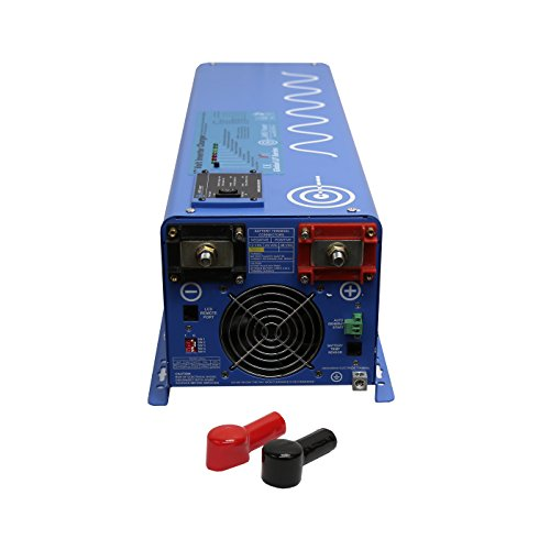 Aims Power 6000W 48 VDC to 120 VAC Pure Sine Inverter Charger w/ 12KW Surge