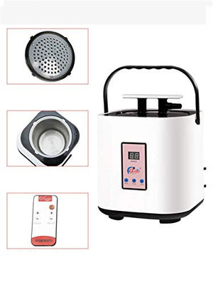 HZX PVC Waterproof Portable Steam Sauna Tent Indoor Collapsible Personal Spa Treatment and Ultra-Thin Weight Loss Three-Use Sauna Box Wireless Remote Control Fumigation Machine 2.5L 220V / 1000W