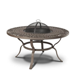 Real Flame Florence Wood Burning Fire Table