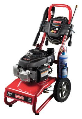 Craftsman Pressure Washer 2700 PSI, 2.3 GPM Honda Powered 75091