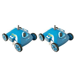 Aquabot Pool Rover S2-40 AJET121 Above Ground Robotic Auto Pool Cleaner (2 Pack)